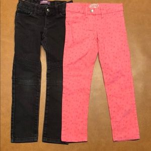 Jeans bundle sz 6 girls Old Navy and Alive (euro)
